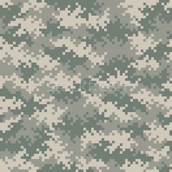 Militari pixel pattern abstract design Foto d'archivio © Balefire9