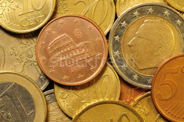 Euro cent coin currency Stock photo © Balefire9
