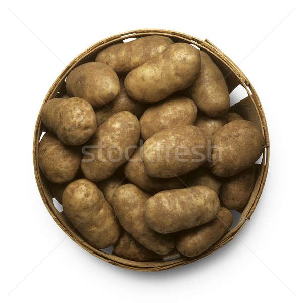 Basket of potatoes Stock photo © Balefire9