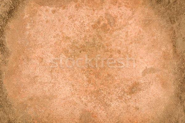 Enferrujado superfície textura metálico corrosão Foto stock © Balefire9