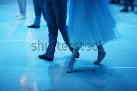 балет Dance низкий танцы женщину Сток-фото © Bananna