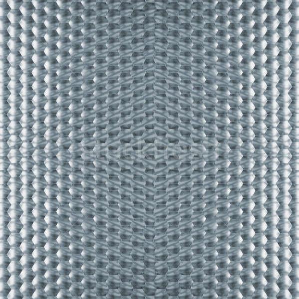 шестиугольник структуры орнамент квадратный текстуры стали Сток-фото © Bananna