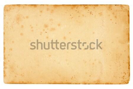 vintage potcard background Stock photo © Bananna