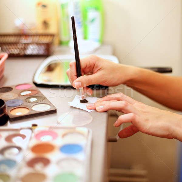 профессиональных макияж детали стороны косметических Сток-фото © Bananna