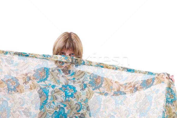 красоту красивая женщина позируют одежды тело Сток-фото © Bananna