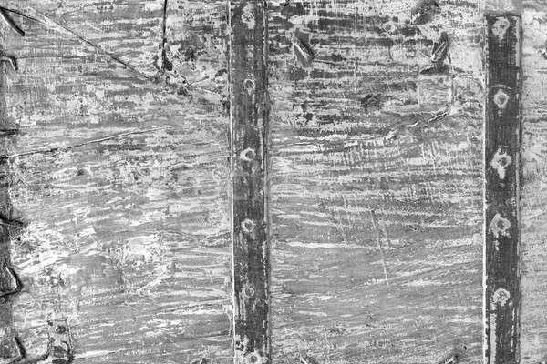 グランジ 木製 壁 表面 モノクロ 木材 ストックフォト © Bananna