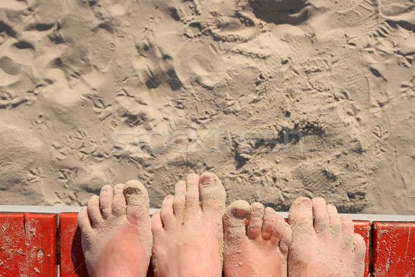 лет курорта Spa пляж природы расслабиться Сток-фото © Bananna