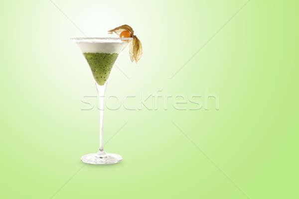 вечеринка ресторан зеленый расслабиться кафе тропические Сток-фото © Bananna