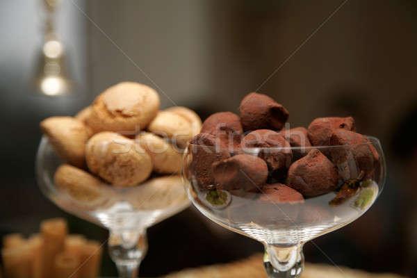 chocolate truffle Stock photo © Bananna