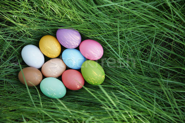 Easter eggs Stock photo © Bananna