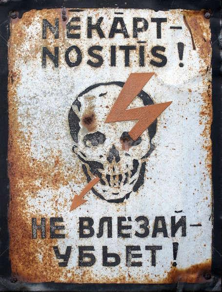 Soviétique temps fond mort horreur Photo stock © Bananna