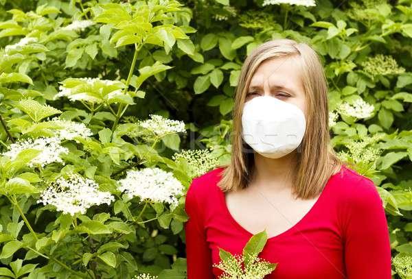 Stock photo: Severe Allergy