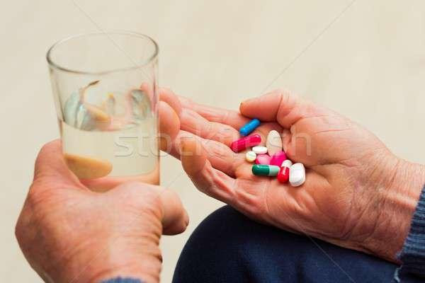 Elderly Health Problems Stock photo © barabasa
