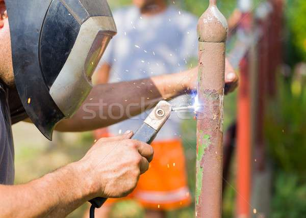 The appropriate manual work Stock photo © barabasa