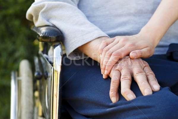 Elderly Lifestyle Stock photo © barabasa