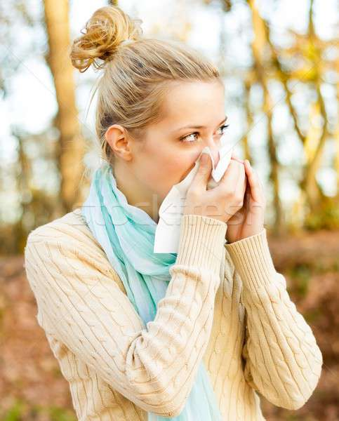 Sickness Stock photo © barabasa