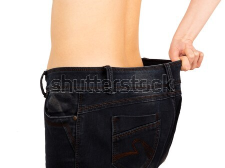 Weight Loss Achievement Stock photo © barabasa