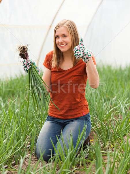Gardening Is Fun! Stock photo © barabasa