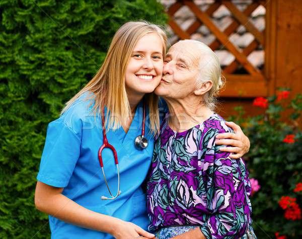 Loving Patient Stock photo © barabasa