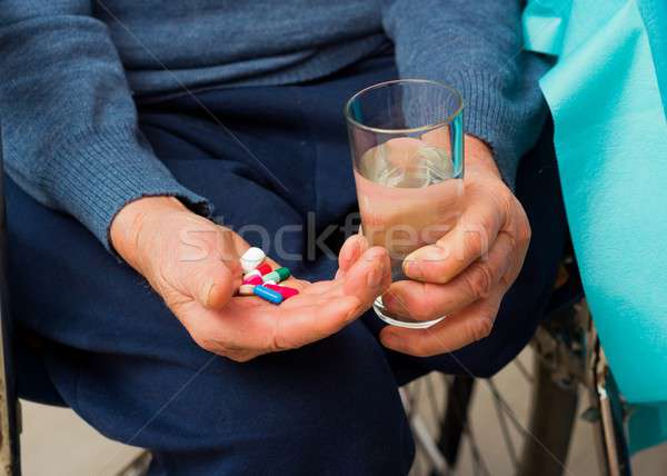 Age-Related Health Problems Stock photo © barabasa