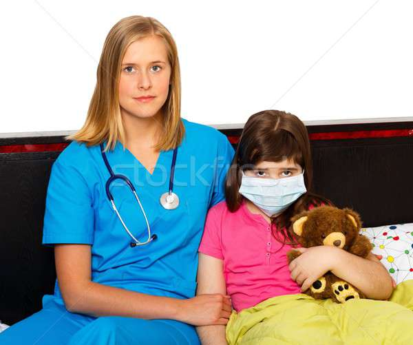 Influenza Treating Stock photo © barabasa