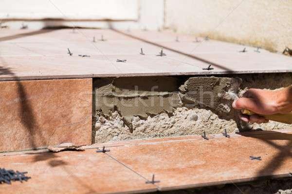 Safe home renovation Stock photo © barabasa