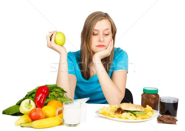 If Only I Could Eat... Stock photo © barabasa