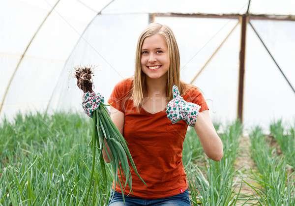 I Love Gardening! Stock photo © barabasa