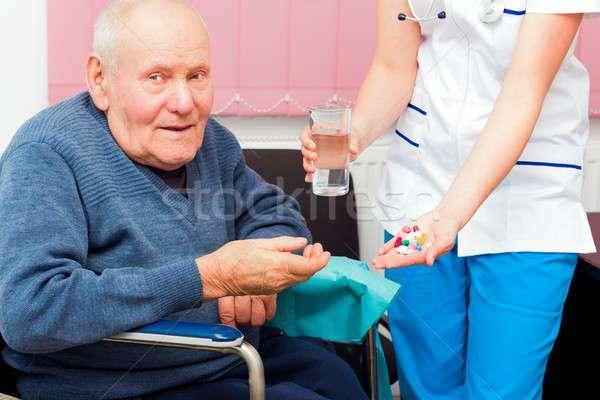 Aging-associated Diseases Stock photo © barabasa