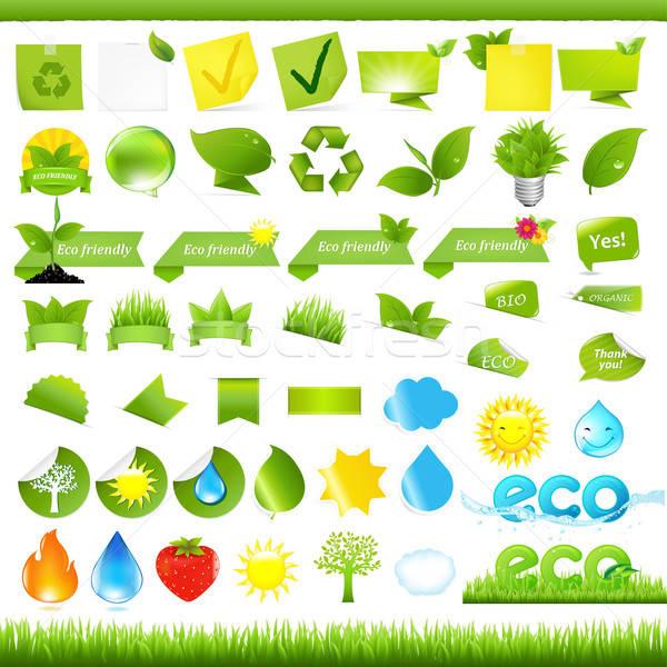 Eco Set Stock photo © barbaliss