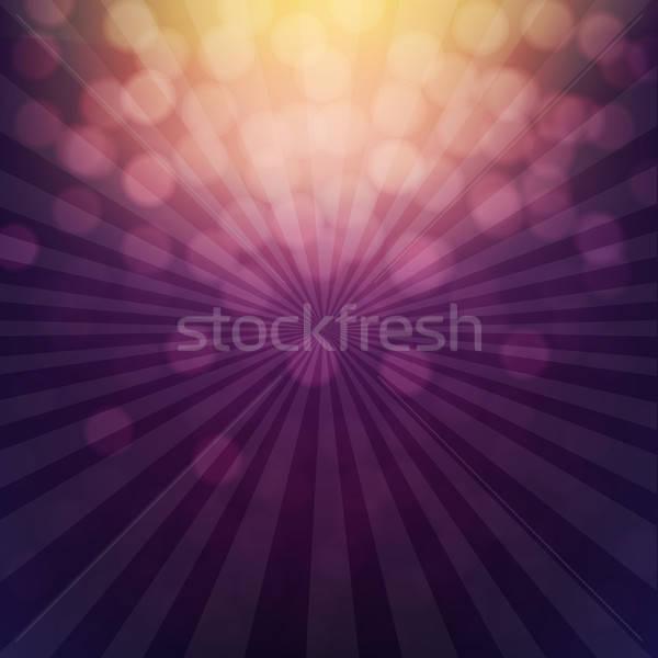 Foto stock: Bokeh · cartaz · gradiente · textura · abstrato