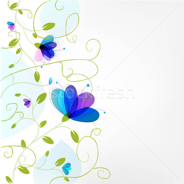 Flor abstrato textura projeto beleza retro Foto stock © barbaliss