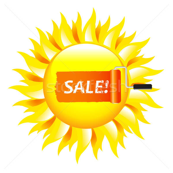 Sale Poster Stock photo © barbaliss