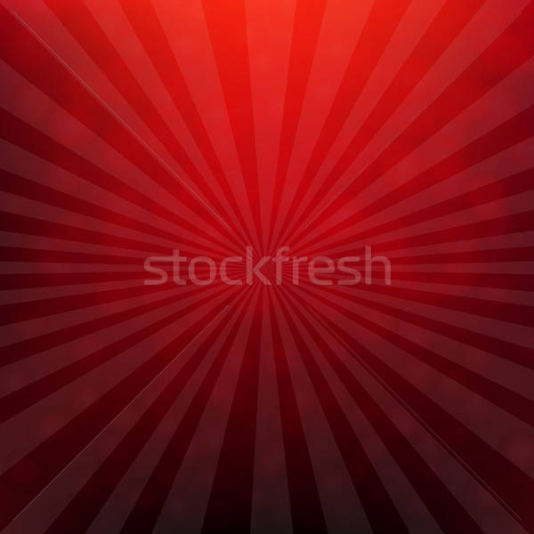 Red Christmas Poster With Bokeh Stock photo © barbaliss