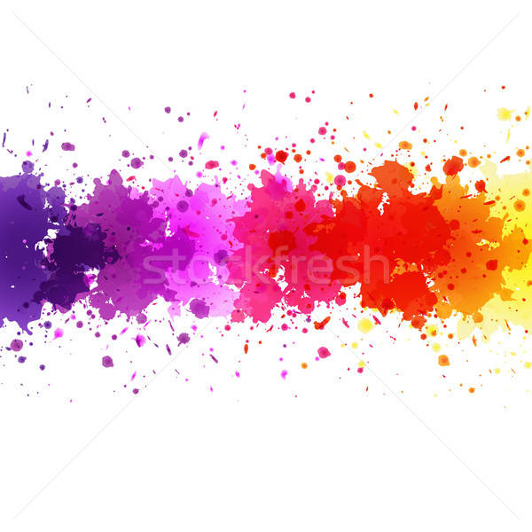 Watercolor Blot Background Stock photo © barbaliss