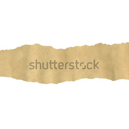 Old Fragmentary Paper Border Stock photo © barbaliss