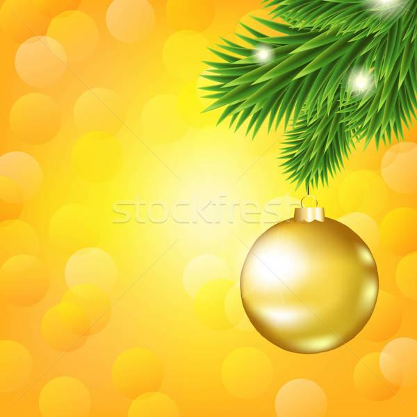 Pomarańczowy struktura gradient drzewo projektu Zdjęcia stock © barbaliss
