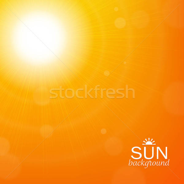 Sun Background Stock photo © barbaliss