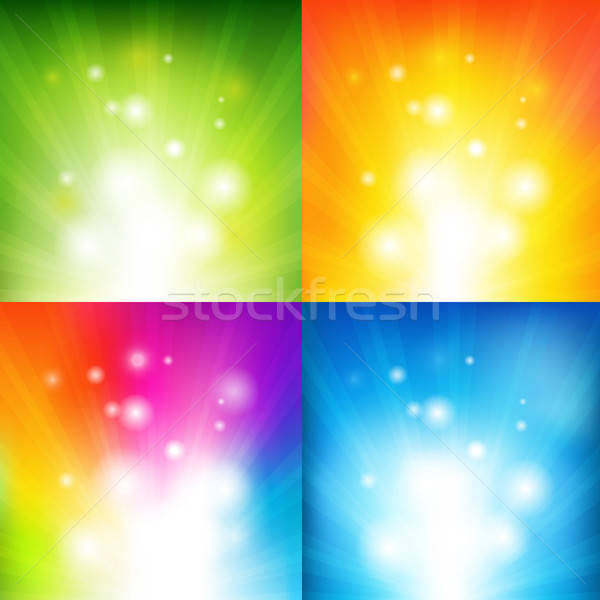 Color Backgrounds With Beams Stock photo © barbaliss