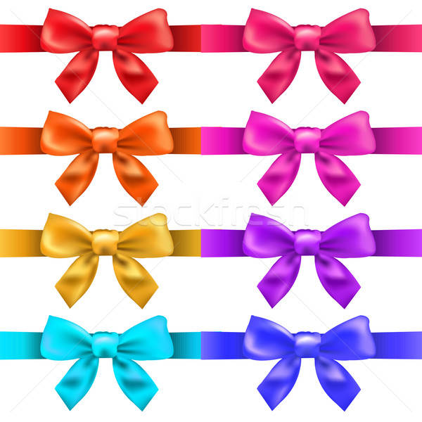 Big Ribbons With Bow Stock photo © barbaliss