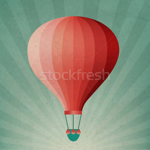 Retro Air Balloon Stock photo © barbaliss