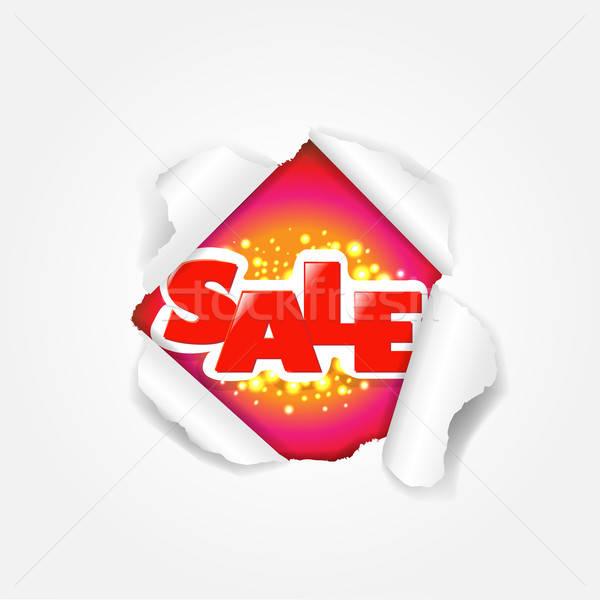 Sale Torn Stock photo © barbaliss