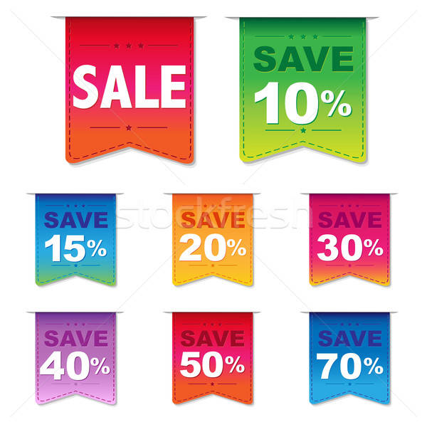 Discount Labels Stock photo © barbaliss