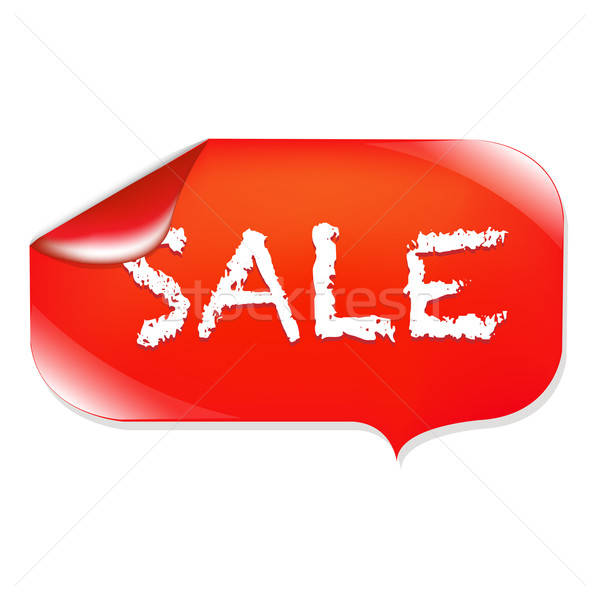 Stock photo: Sale Label