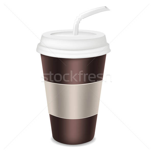 Paper Glass For Coffee Stock photo © barbaliss