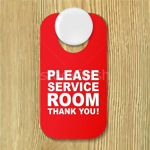 Do Not Disturb Red Sign Stock photo © barbaliss