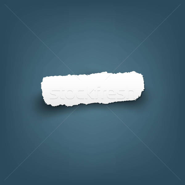 Scrap Of Fragmentary Paper Stock photo © barbaliss