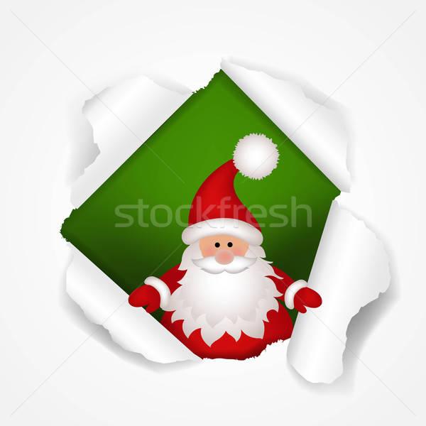 Heureux Noël affiche gradient design Photo stock © barbaliss