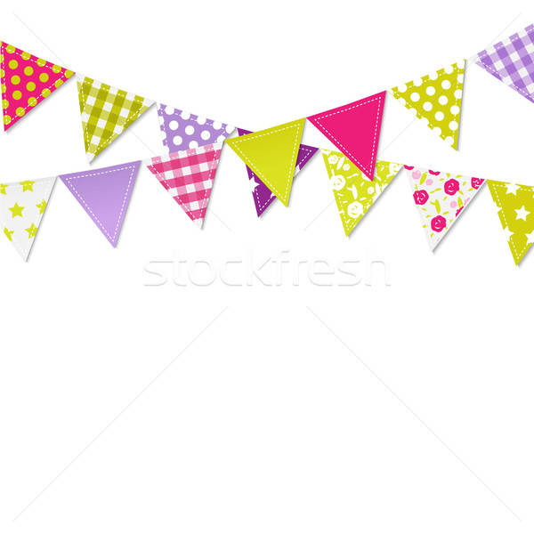 Bunting Flags Stock photo © barbaliss
