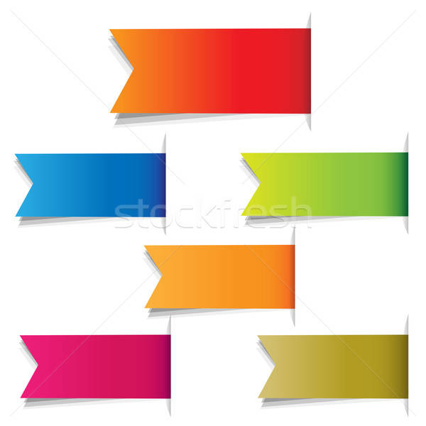 Color Labels Stock photo © barbaliss
